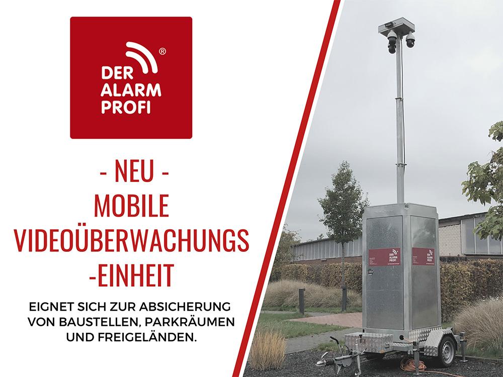 Mobile Videoüberwachungseinheit - DER ALARM PROFI Kiel
